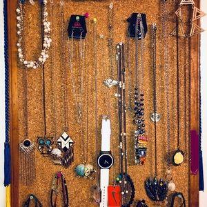 Necklaces + Bracelets